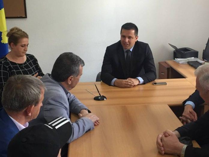 Drejtori i arsimit të Kukësit z. Skënder Ahmeti në vizitë zyrtare në Dragash